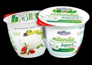 OSM Piatnica Jogurt - naturalny Milandia z mascarpone 250g