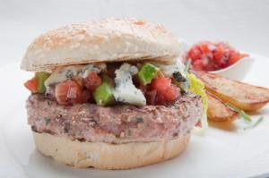 Hamburger z Kurczaka Zagrodowego z Podlasia
